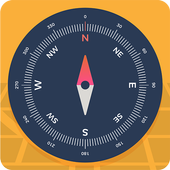 Compass Pro For Android: Digital Compass Free icon