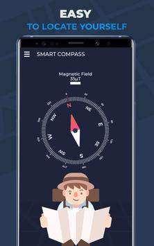 Compass Pro For Android: Digital Compass Free screenshot 5