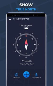 Compass Pro For Android: Digital Compass Free screenshot 7