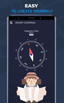 Compass Pro For Android: Digital Compass Free screenshot 10