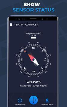 Compass Pro For Android: Digital Compass Free screenshot 11