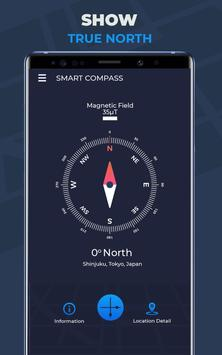 Compass Pro For Android: Digital Compass Free screenshot 12
