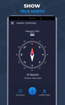 Compass Pro For Android: Digital Compass Free screenshot 2