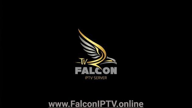FALCON IPTV PRO الملصق