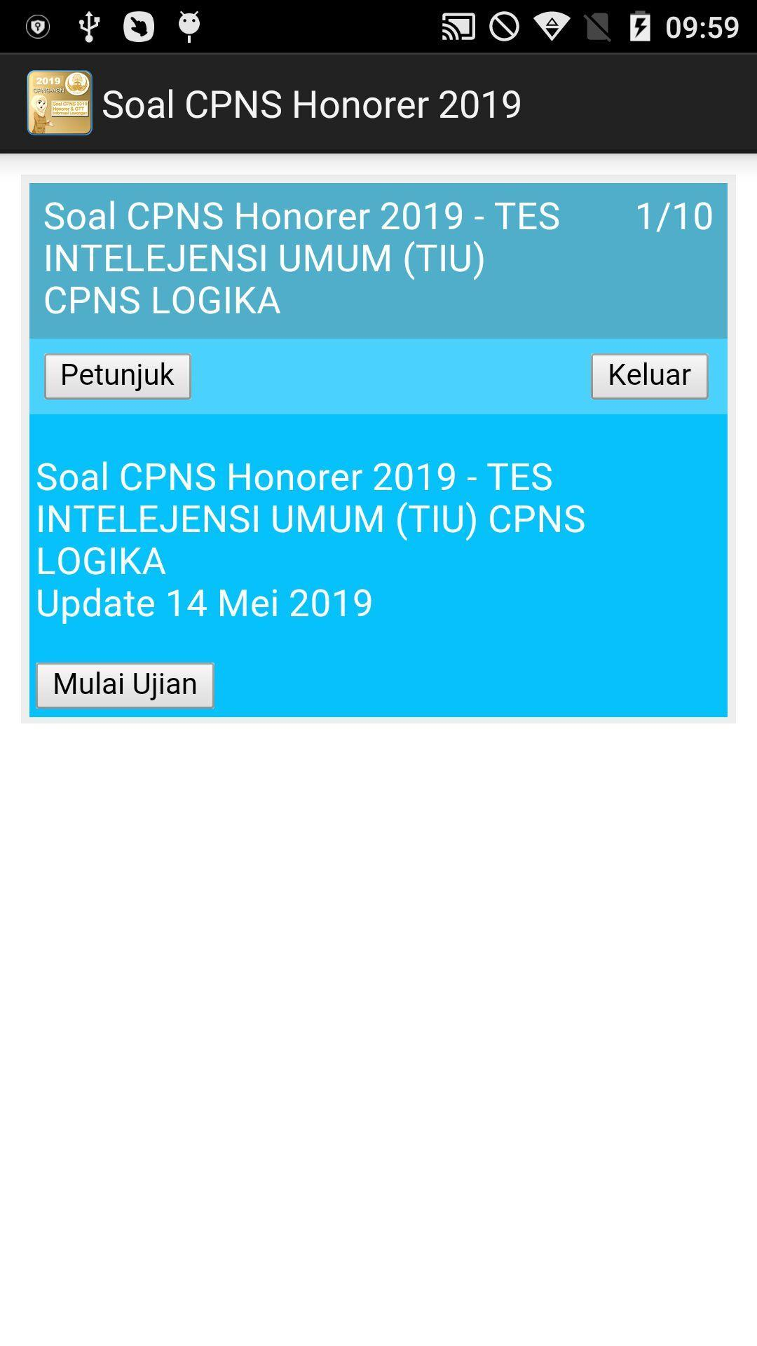 Soal Cpns Honorer 2019 For Android Apk Download
