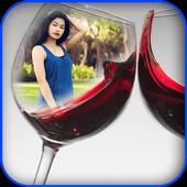 Wine Bottle Photo Frames icon