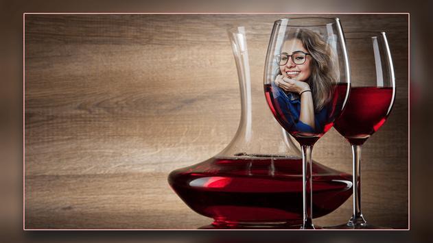 Wine Bottle Photo Frames screenshot 1