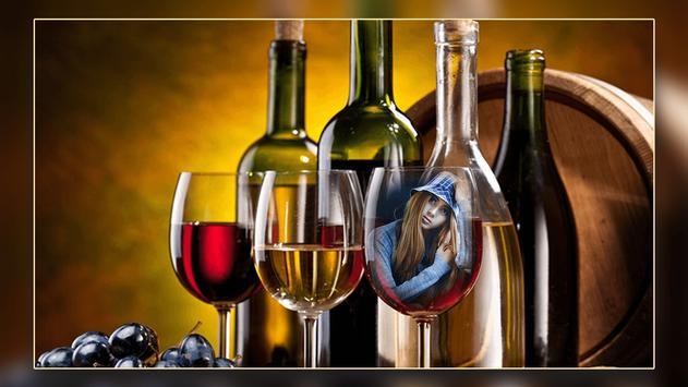 Wine Bottle Photo Frames screenshot 2