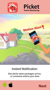 Smart Home Surveillance Picket - reuse old phones screenshot 2