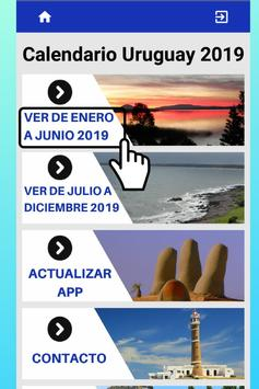 Mejor Calendario Uruguay 2019 para Celular Gratis screenshot 2