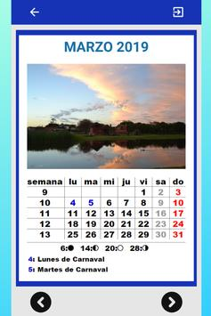 Mejor Calendario Uruguay 2019 para Celular Gratis screenshot 4