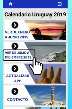 Mejor Calendario Uruguay 2019 para Celular Gratis screenshot 5