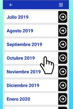 Mejor Calendario Uruguay 2019 para Celular Gratis screenshot 6