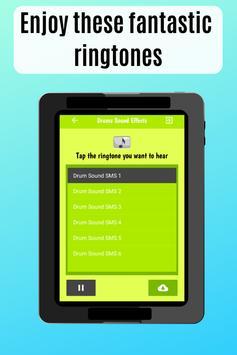 Drum Sound effects amazing ringtones for phone screenshot 3
