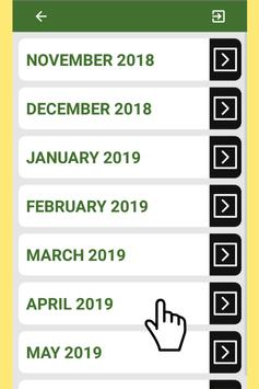 Best Saudi Arabia Calendar 2019 for Cell Phone screenshot 3