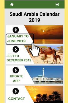 Best Saudi Arabia Calendar 2019 for Cell Phone screenshot 2