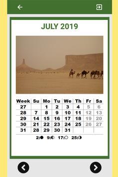 Best Saudi Arabia Calendar 2019 for Cell Phone screenshot 7