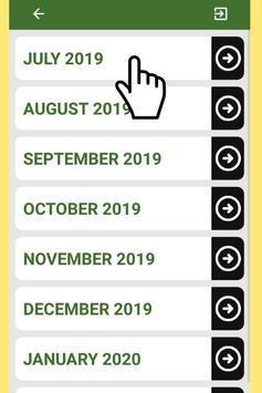 Best Saudi Arabia Calendar 2019 for Cell Phone screenshot 6