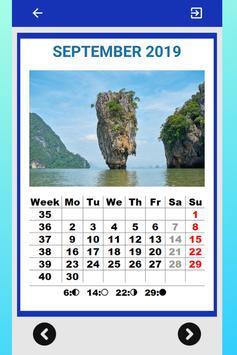 Best Thailand Calendar 2019 for Cell Phone screenshot 7