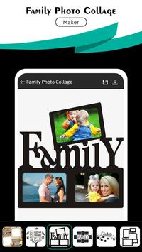Family Photo Collage - Family Frame Photo poster