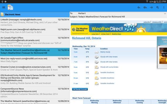 OlMail Reader screenshot 3
