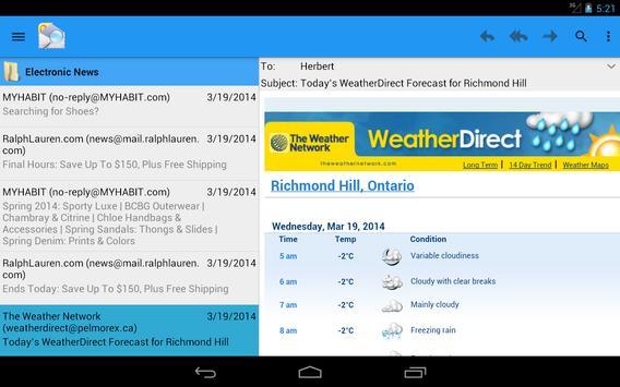 OlMail Reader screenshot 8