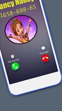 Fancy Princessa nancy Call Simulator screenshot 5