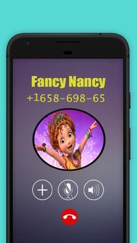 Fancy Princessa nancy Call Simulator screenshot 7