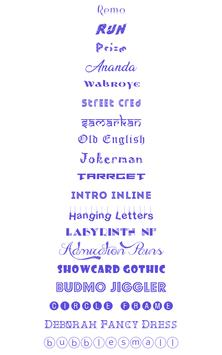 Fonts Keyboard screenshot 9
