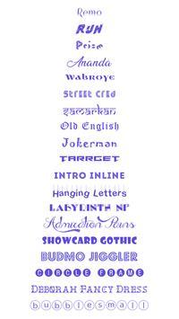 Fonts Keyboard screenshot 5