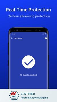 Fancy Security - Antivirus, Virus Remover, Cleaner screenshot 1