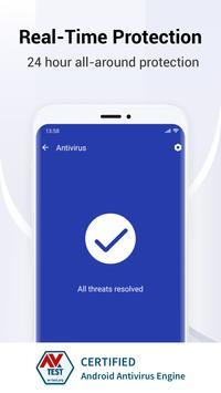 Antivirus, Virus Cleaner, Booster - Fancy Security ảnh chụp màn hình 1