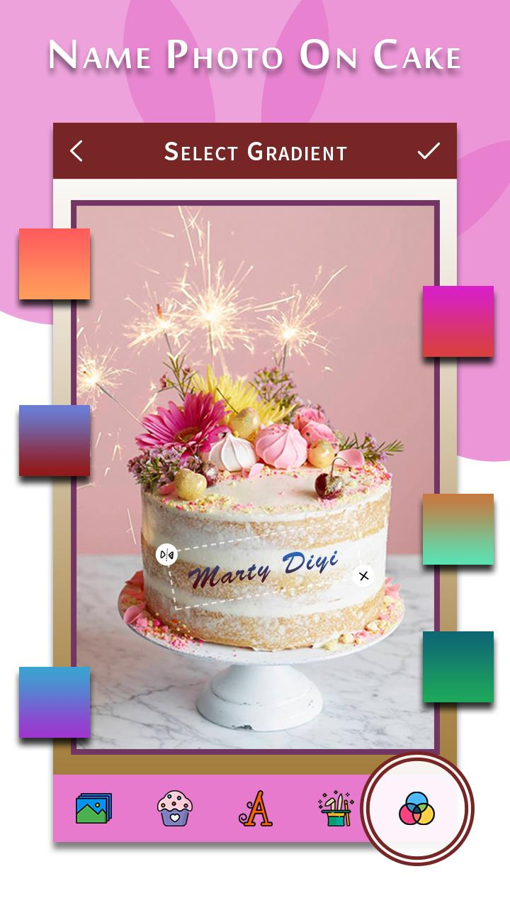 Fantastic Happy Birthday Song With Name Photo On Bday Cake For Android Funny Birthday Cards Online Elaedamsfinfo