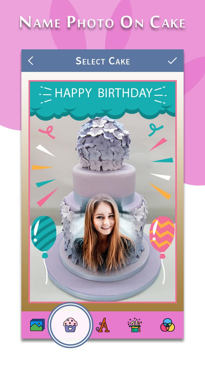 Strange Happy Birthday Song With Name Photo On Bday Cake For Android Birthday Cards Printable Inklcafe Filternl