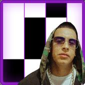 Daddy Yankee Snow Con Calma Fancy Piano Tiles icon