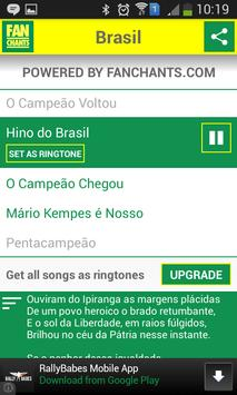 Brazil Songs World Cup 2014 screenshot 1