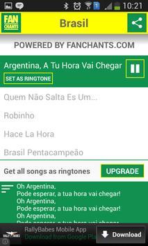 Brazil Songs World Cup 2014 screenshot 7