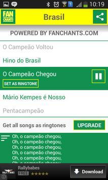 Brazil Songs World Cup 2014 screenshot 4
