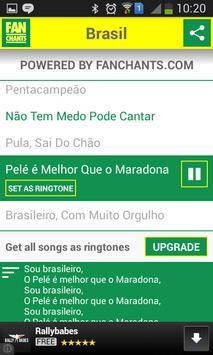 Brazil Songs World Cup 2014 screenshot 6