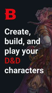 D&D Beyond Player Tools - mobile character sheets poster