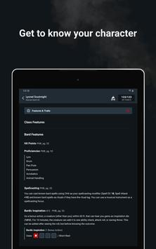 D&D Beyond Player Tools - mobile character sheets screenshot 14