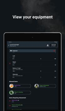 D&D Beyond Player Tools - mobile character sheets screenshot 20