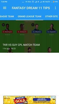Grand 11-Ipl,Psl,Dream 11 Tips and Dream 11 Team screenshot 4
