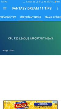 Grand 11-Ipl,Psl,Dream 11 Tips and Dream 11 Team screenshot 2