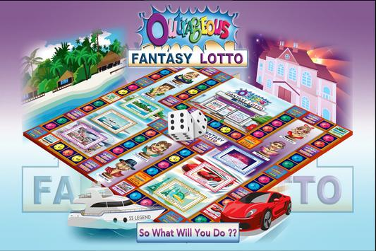 Outrageous Fantasy Lotto poster