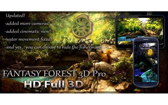 Fantasy Forest 3D Pro lwp screenshot 8