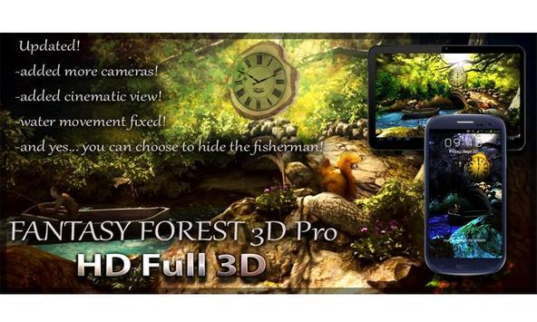 Fantasy Forest 3D Pro lwp screenshot 10
