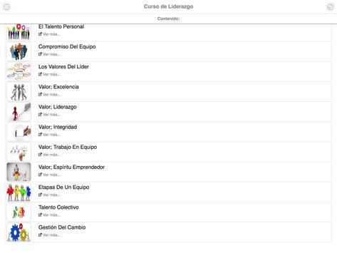 Curso de Liderazgo screenshot 10