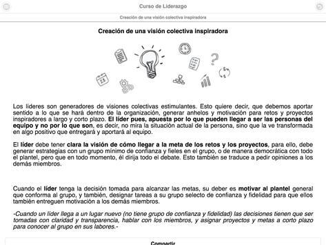Curso de Liderazgo screenshot 20