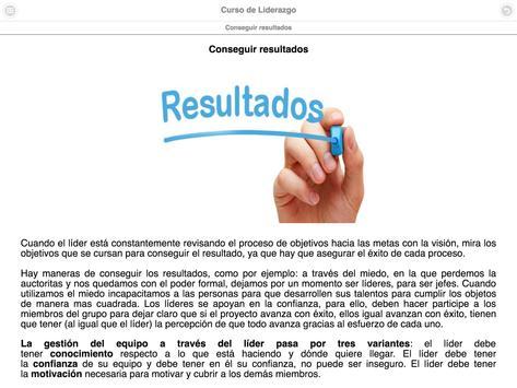 Curso de Liderazgo screenshot 21